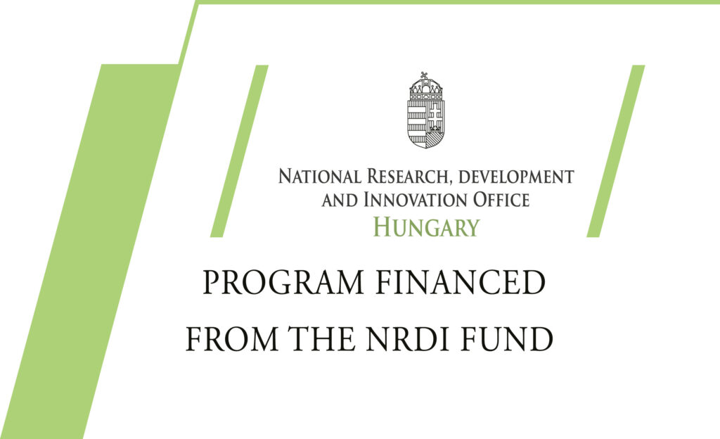 Research & development project financed from the NRDI fund